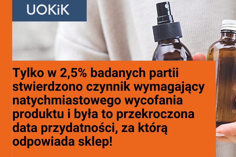 Jakie wnioski płyną z raportu UOKiK dot. oznakowania kosmetyków?